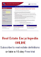Real Estate Encyclopedia ONLINE